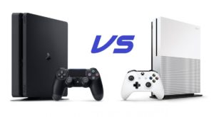 XBOX ONE S VS PS4 SLIM 1