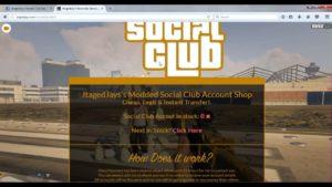 GTA V XBOX ONE SOCIAL CLUB 1