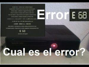 E 68 XBOX 360 1