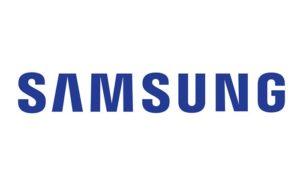 logo de la marca samsung