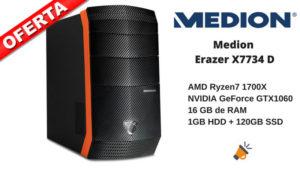 MEDION ERAZER X7734D 1