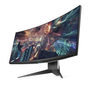 monitor gaming dell alienware aw3418dw 34.14 ips ultra-wide quad hd curvo 1