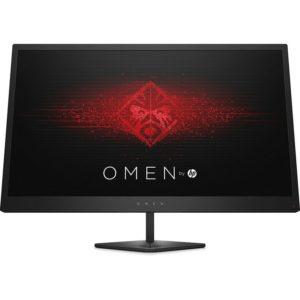 """monitor gaming hp omen 25, 24.5"""" full hd, led, hdmi, negro y rojo 1"""