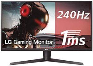 monitor led gamer 27 lg 27gk750f 240hz 1ms 1