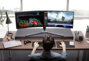 monitor samsung qled gaming 49 pulgadas 1