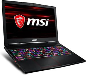 MSI GE63 RAIDER RGB 8RE 1