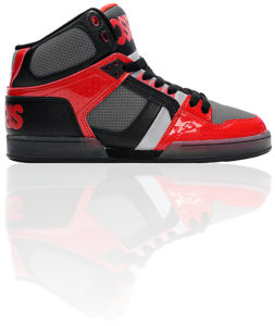 Osiris - Black/Red 1