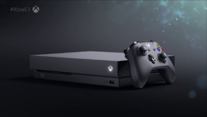 THE XBOX ONE X 1