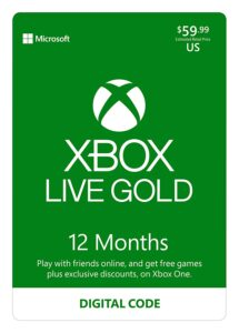 XBOX ONE GOLD 1