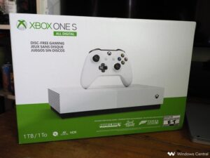 THE XBOX ONE S ALL-DIGITAL EDITION 1