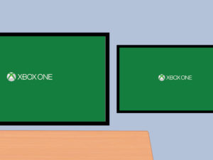 XBOX ONE 2 MONITORES 1
