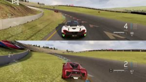 FORZA 6 XBOX ONE SPLIT SCREEN 1