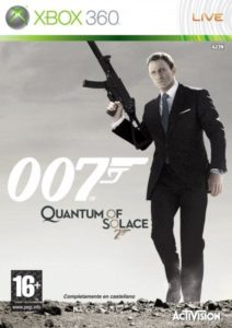 XBOX 360 007 QUANTUM OF SOLACE 1