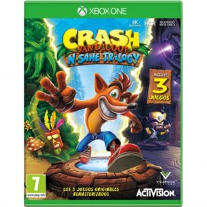 CRASH N SANE XBOX ONE 1