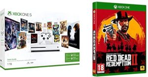 XBOX ONE S RED DEAD REDEMPTION 2 1