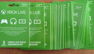XBOX ONE LIVE GOLD 1