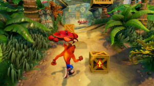 CRASH BANDICOOT N SANE TRILOGY XBOX ONE X 1