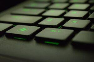 keyboard green